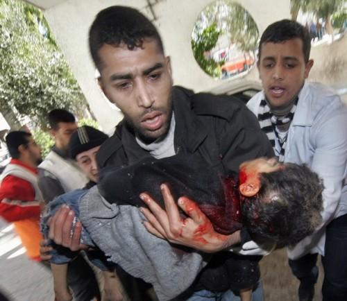 MIDEAST-PALESTINIAN-ISRAEL-GAZA